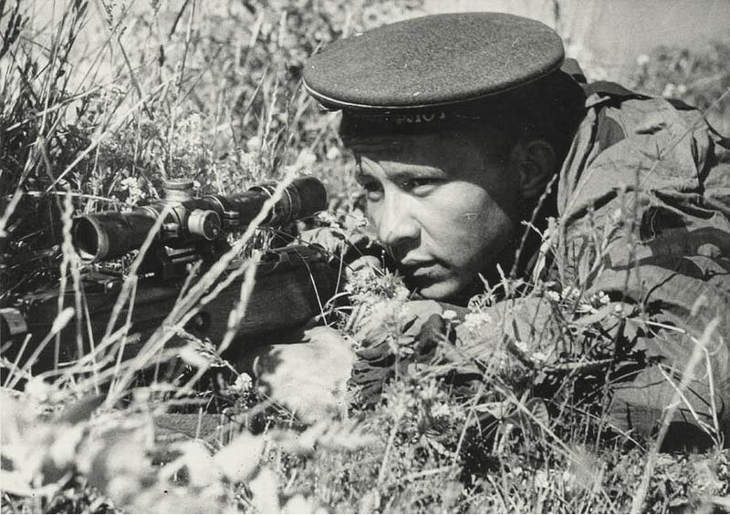 Снайпер Филипп Яковлевич Рубахо