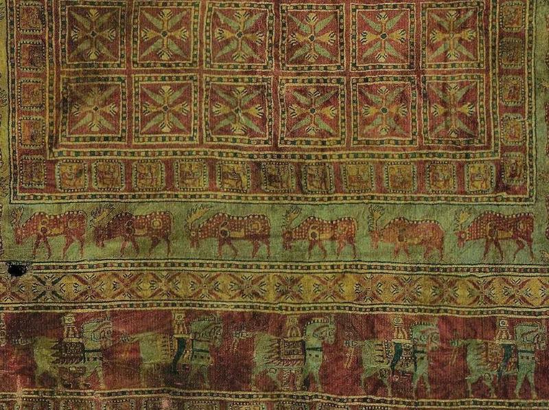 Пазырыкский ковёр