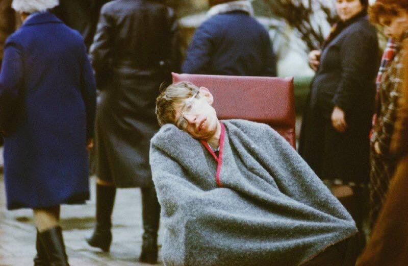 Стивен Хокинг в Сергиевом Посаде (Загорск), 1981 год.