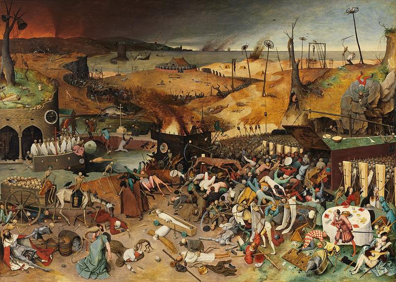 Картина Триумф смерти