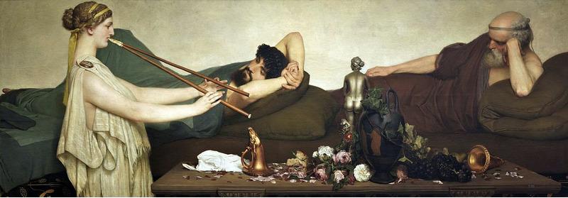 Картина Помпейская сцена