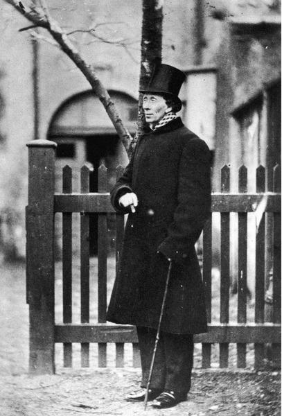 Датский писатель Ханс Кристиан Андерсен 1862 г.