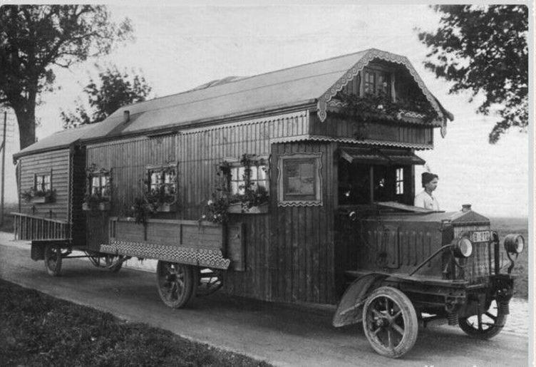 Дом на колесах. Германия. 1922 год