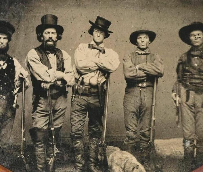 Американские Рейнджеры района Рио-Гранде, 1850-1851 г