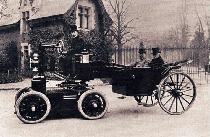 Электромобиль Великого Князя Алексея Александровича 1898 год