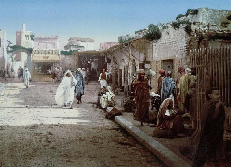 Улица Марр, Тунис