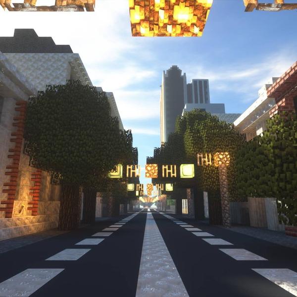 Краснодар в Minecraft