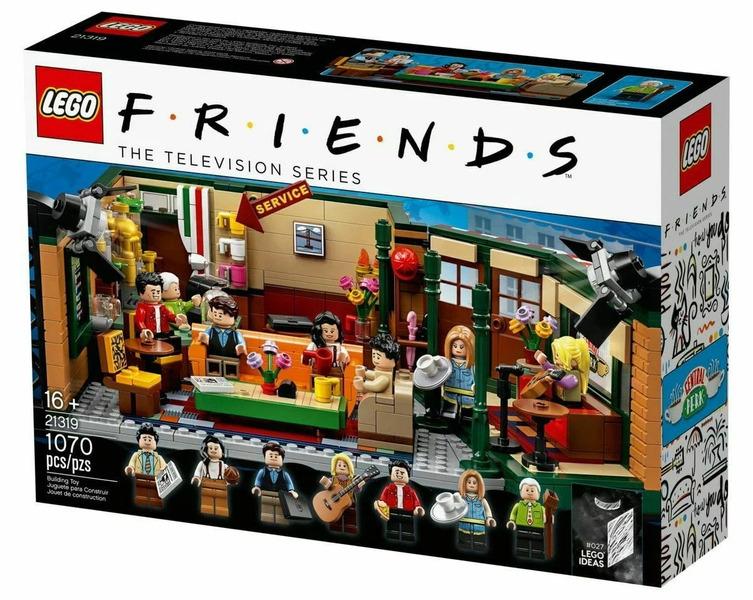 LEGO с персонажами сериала Друзья