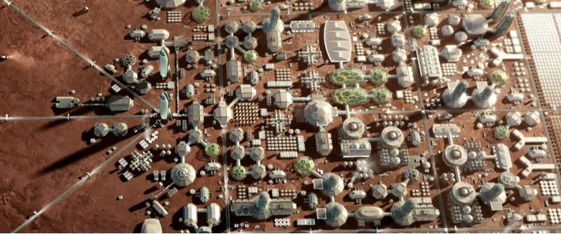 Илон Маск назвал цену марсианского города