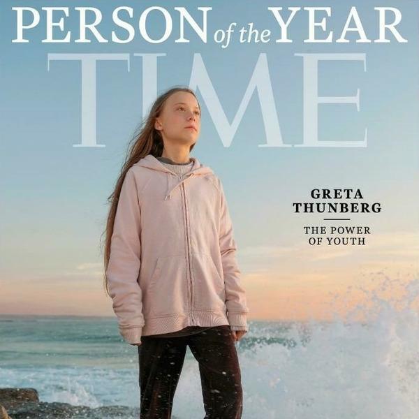 Грета Тунберг - Человек Года по версии журнала TIME