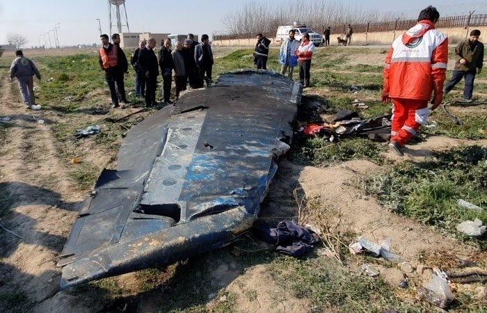Иран сбил украинский самолёт по ошибке