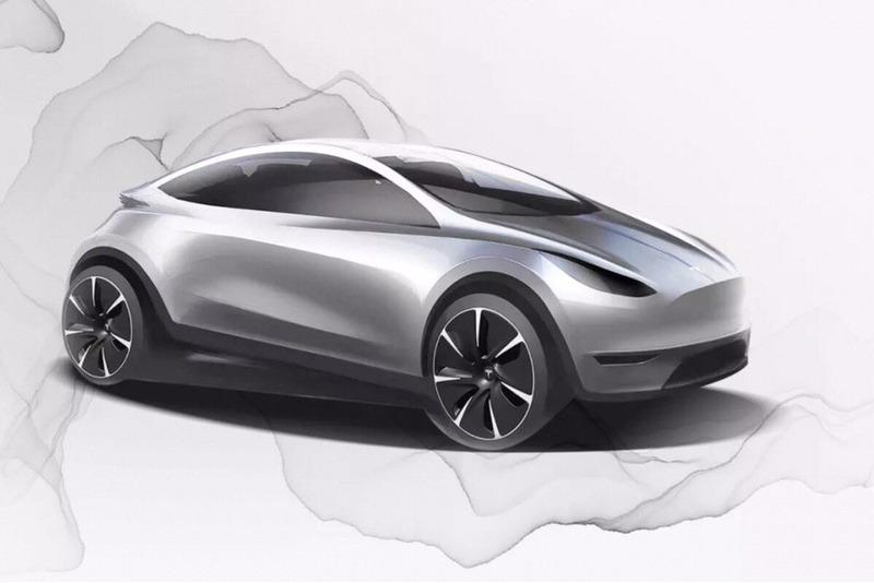Дизайн нового электрокара от Tesla