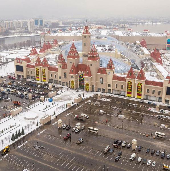 Парк развлечений Остров мечты открылся в Москве