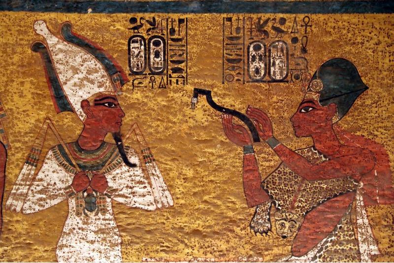тайники в гробнице Тутанхамона