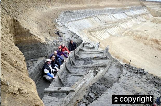 В Сербии археологи под землей обнаружили флот кораблей