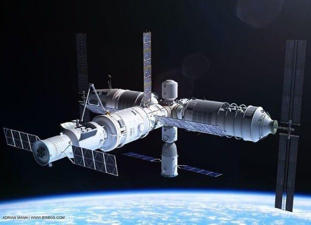 Китай начнёт строительство своей космической станции в 2021 году