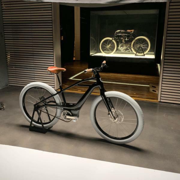Электровелосипед Harley-Davidson