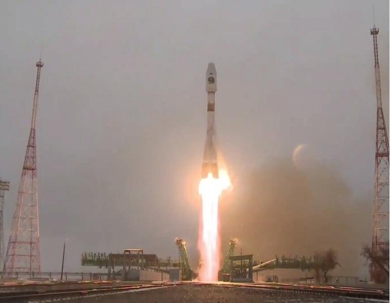 Запуск спутника Арктика-М. Роскосмос