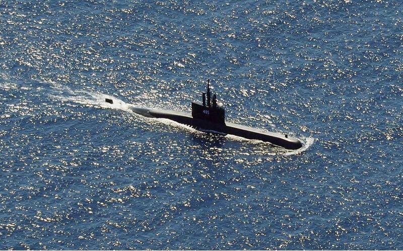 Подводная лодка KRI Nanggala-402