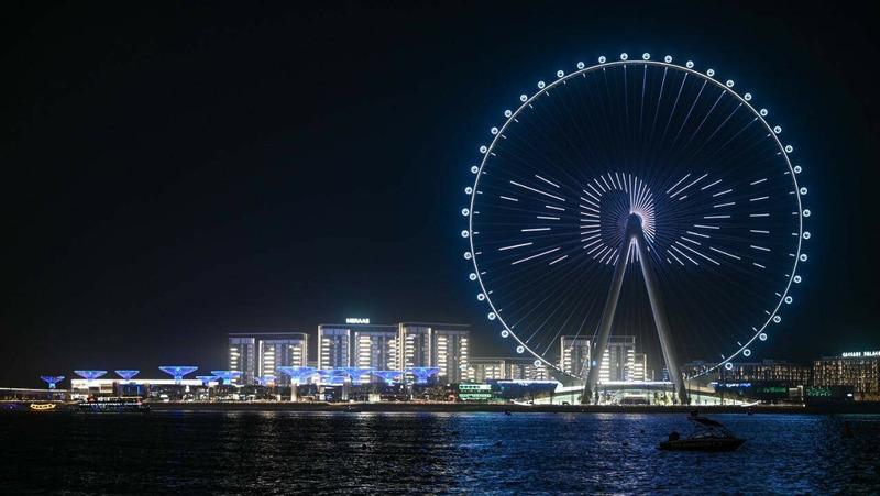 Колесо обозрения Глаз Дубая