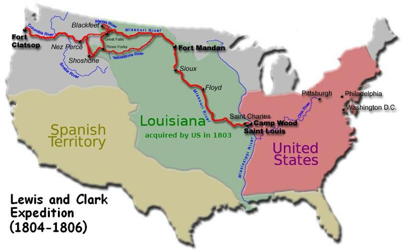 Экспедиция Льюиса и Кларка