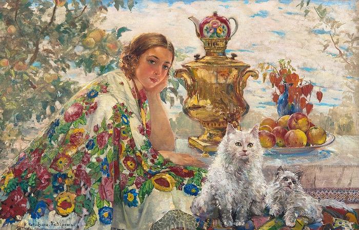 Особое положение котов в древней Руси