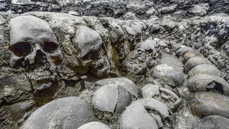 Шлемы из черепов
