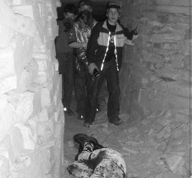 Потерянный друг в одесских катакомбах