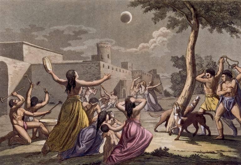 Солнечные затмения в истории человечества
