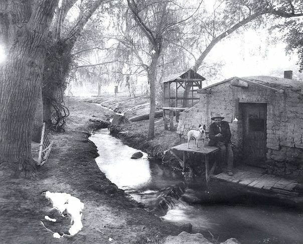 Хижина в долине Лас–Вегас, США, 1895 год.