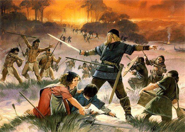 Гибель поселений викингов в Америке
