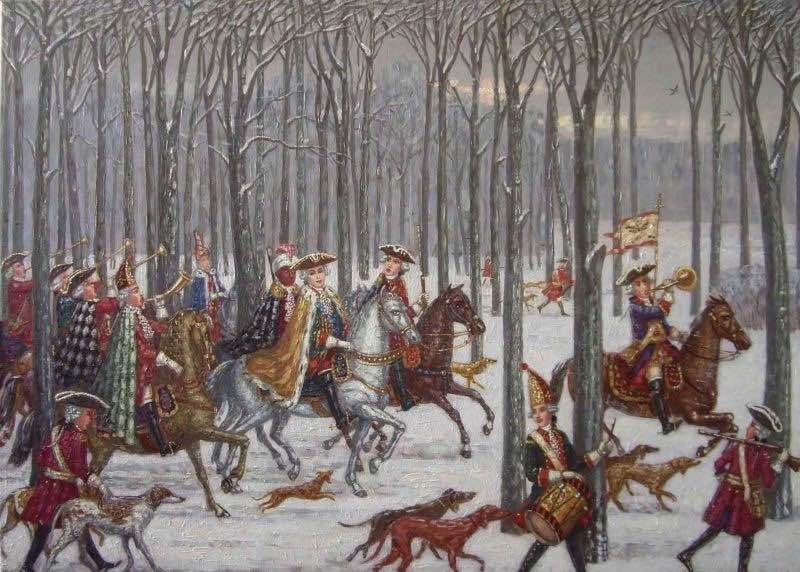Особенности царской охоты на Руси