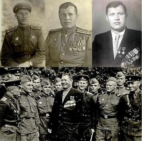 Степан Шутов дважды Герой Советского Союза