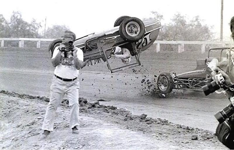 авария во время зимней гонки в Калифорнии в 1976 году